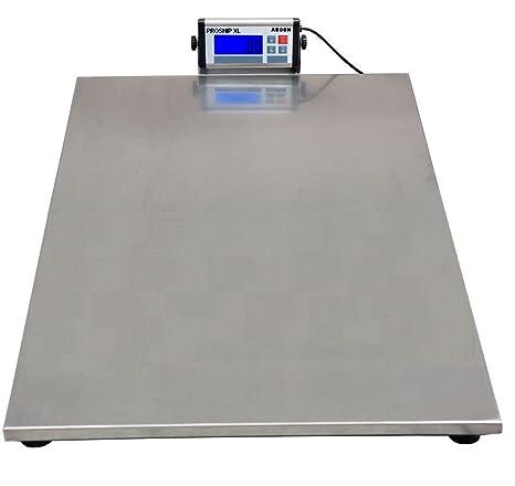 Báscula digital Proship XL extragrande 90 x 60 cm 350 kg / 700 lb x 100