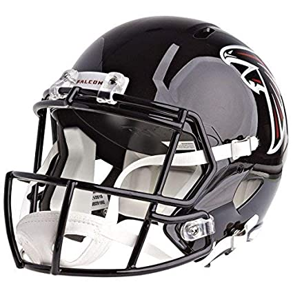 more photos a4a68 f2689 Riddell Atlanta Falcons Officially Licensed Speed Full Size Replica  Football Helmet