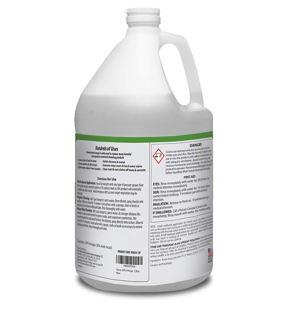 Harris 30% Vinegar, Extra Strength with Trigger Sprayer Included, Gallon by Harris (Image #2)