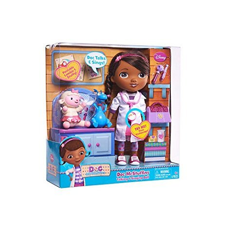 Doc McStuffins Talking & Singing 11'' Doll with Lambie and Stuffy figure