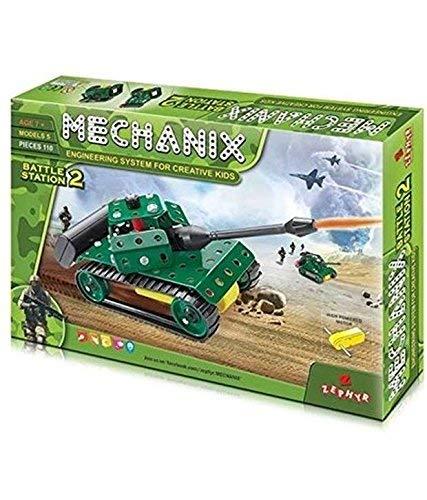zephyr mechanix battle station 2 safe and non toxic toys of children  Multi color