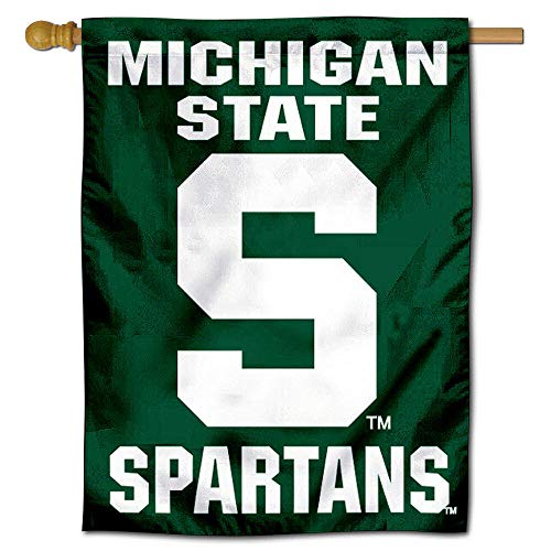 Michigan State University Banner House Flag