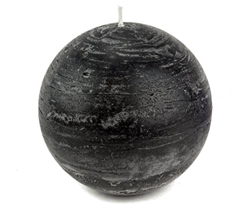 Black Ball Candle 4