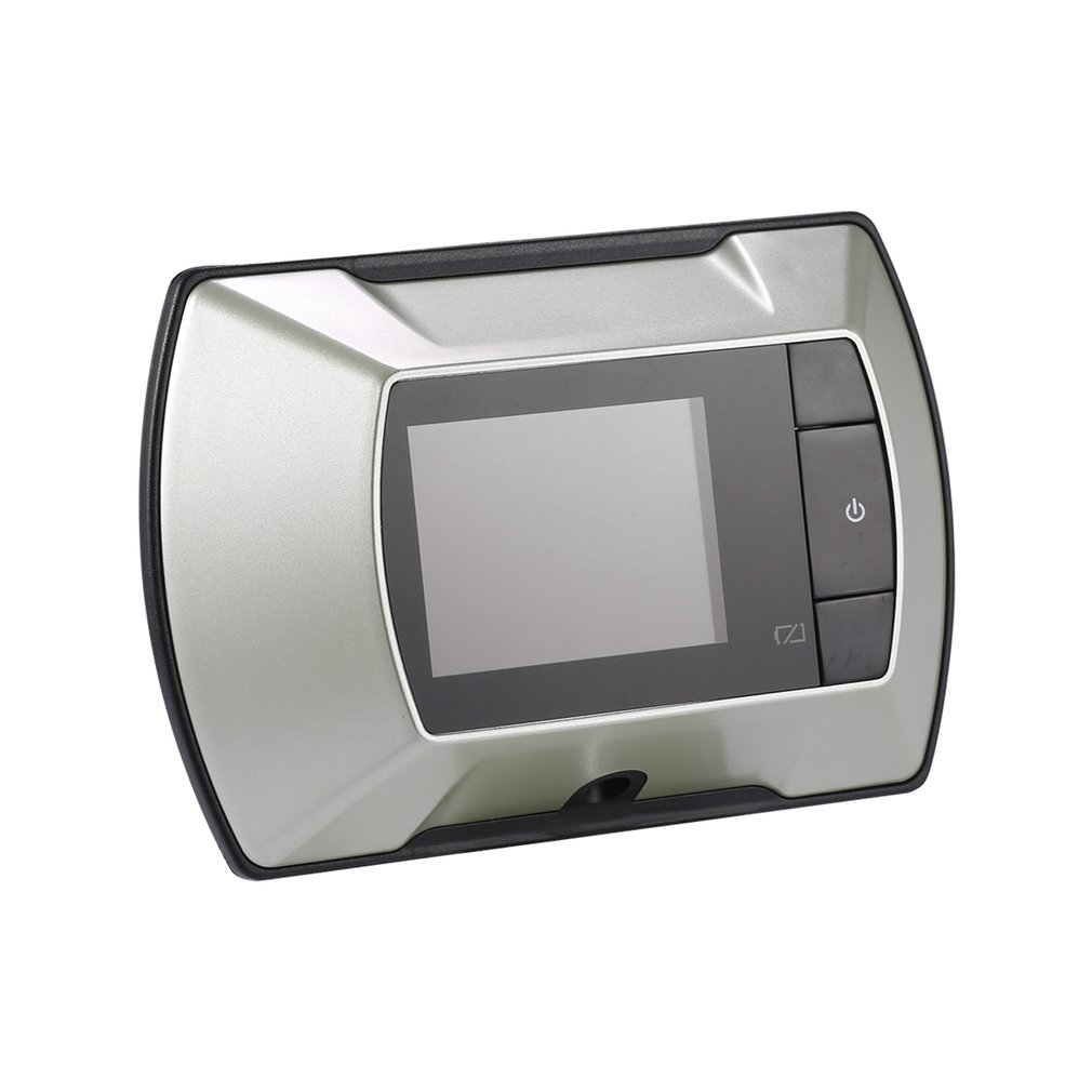 Qulable 2.4'' LCD Visual Monitor Door Peephole Peep Hole Wired Viewer Camera Video