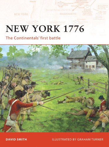 New York 1776: The Continentals' first battle (Campaign Book 192)