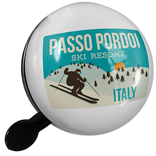 Small Bike Bell Passo Pordoi Ski Resort - Italy Ski Resort - NEONBLOND by NEONBLOND