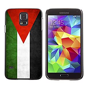 Shell-Star ( National Flag Series-Jordan ) Snap On Hard Protective Case For Samsung Galaxy S5 V SM-G900