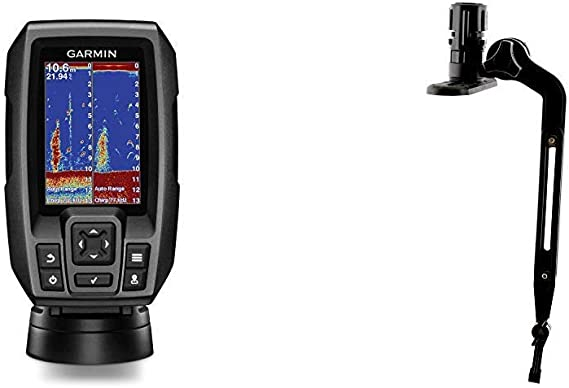 """3.5/"""" GPS Fishfinder with CHIRP Traditional ... Garmin Striker 4 with Transducer"""