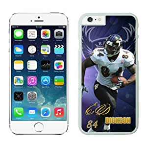 Baltimore Ravens Ed Dickson iPhone 6 Cases 01 White 4.7 inches63411_53416
