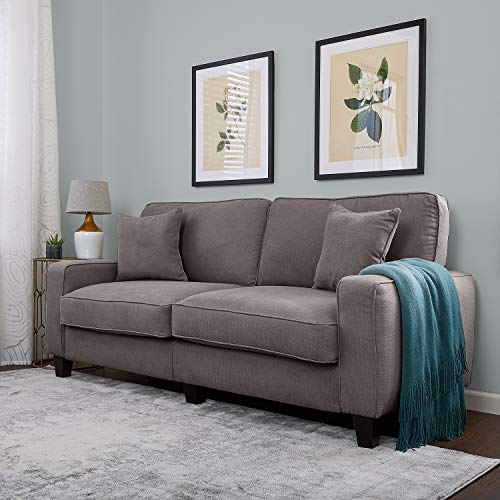 "Serta RTA Palisades Collection 78"" Sofa in Glacial Gray"
