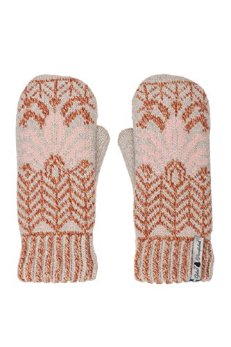(Öjbro Swedish made 100% Merino Wool Soft Thick & Extremely Warm Mittens (Medium, Fager Ingun))