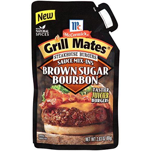 - McCormick Grill Mates Brown Sugar Bourbon, 2.83 oz (Pack of 6)