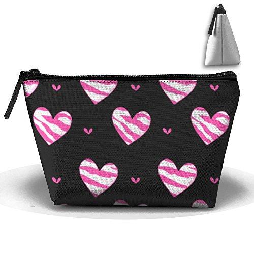 MASDUIH I Love Hand Bag Portable Storage Bag Clutch Handbag ()