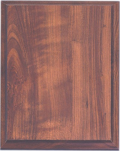 Elegant Cherry Finish Composite Wood Plaque, 8 by 10-inch