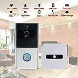 Best Video Doorbells - Wifi Wireless Video Doorbell, Built-in 8G 720P HD Review