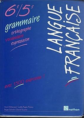 langue francaise 6e/5e grammaire