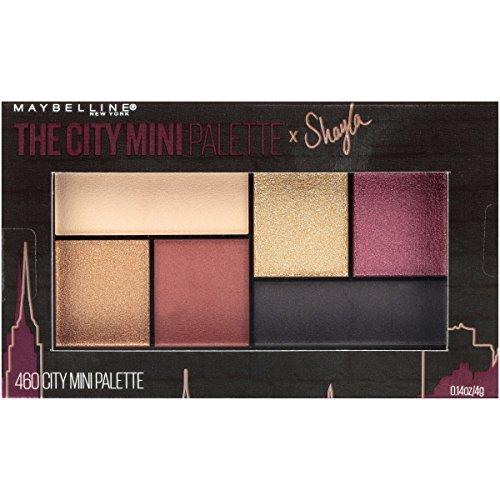 Maybelline The City Mini Palette Eyeshadow, 460 - Makeup Shayla