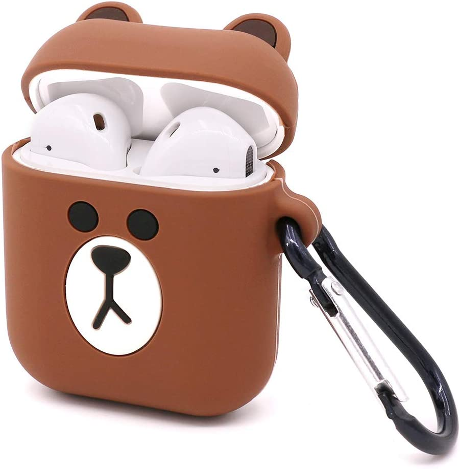 Amazon Com Yonocosta Cute Airpods Case Airpods 2 Case Funny 3d