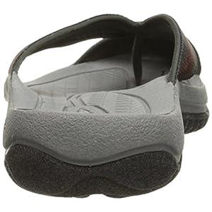KEEN Men's Waimea H2 Sandal, Raven/Burnt Orchre, 11.5 M US