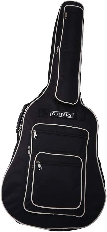 BigTron 600D Bolsa de Guitarra Oxford de Tela Resistente al Agua | Estuche para Guitarra | Mochila de Guitarra con Bolsillo (41 Pulgadas): Amazon.es: Deportes y aire libre