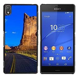 "For Sony Xperia Z3 , S-type Naturaleza Hermosa Forrest Verde 148"" - Arte & diseño plástico duro Fundas Cover Cubre Hard Case Cover"