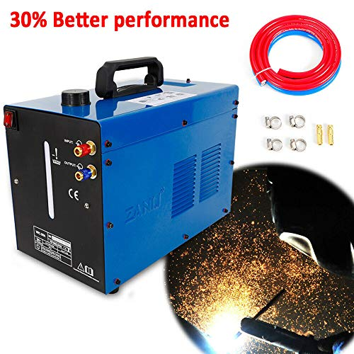 TIG Welder Water Cooler, WRC-300A 110V 50 Hz TIG Welder Torch Welding Machine Water Cooling System Circulating Water Tank, Single Phase, 10 Liter Capacity