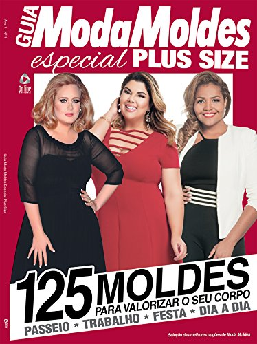 e7879bd20 Moda Molde Especial Plus Size Ed.01 (Moda Moldes Especial Livro 1 ...