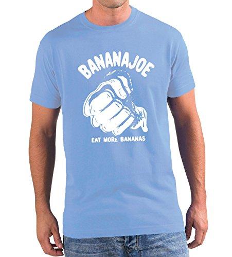 T shirt Dall'acciaio Colori Original Banana Joe Premium 3 Diversi 5xl Bud Spencer Azzurro vnUItzaW