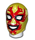 Dos Caras Oro Mexican Lucha Libre adult size wrestling mask by Luchadora