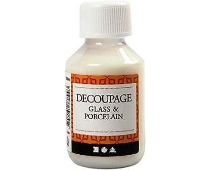Glass \u0026 Ceramic 100ml Decoupage \u0026 Decopatch Glue for Napkins \u0026 Paper