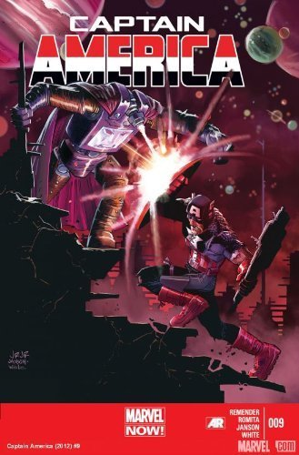 "Download Captain America #9 ""With the only way back to Earth slowly closing"" pdf epub"