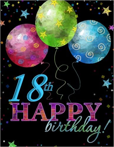 18th Happy Birthday Celebrarion Memory Book Party Supplies In All Departments Decorations