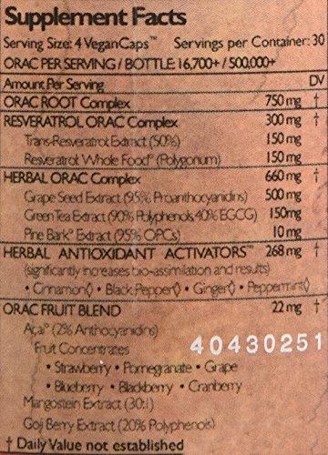 Health Force Acai Resveratrol Ultimate Orac Antioxidant Extreme Version 8 120 Vegan Caps Discount