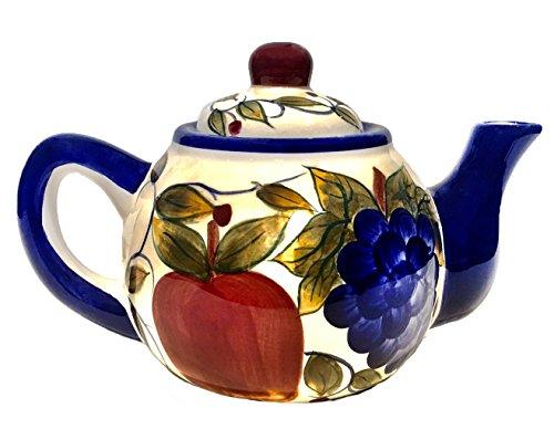 Teapot Design Fruit - Teapot with Fruit Design 9.5
