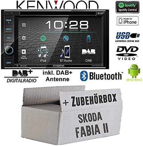 Radio de Coche Kenwood DDX4019DAB para Skoda Fabia 2 Nexus ...