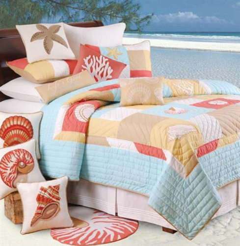 C & F Enterprises St. Lucia Collection Quilt