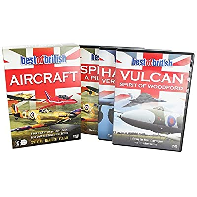 Best Of British Aircraft - DVD [NON USA FORMATTED VERSION REGION 2 DVD]