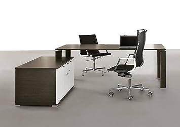 Bralco Design Chef Schreibtisch Jet Mit Sideboard Chefschreibtisch