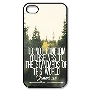Words Of Inspiration For Singles Case For iPhone 4/4s Black Nuktoe627144