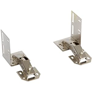 Knape & Vogt ET-H-N Euro Tray Hinges Cabinet Organizer, 2.88 by 3.75 by 2.25-Inch