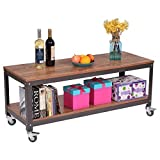 Particleboard + steel Coffee Table With Ebook