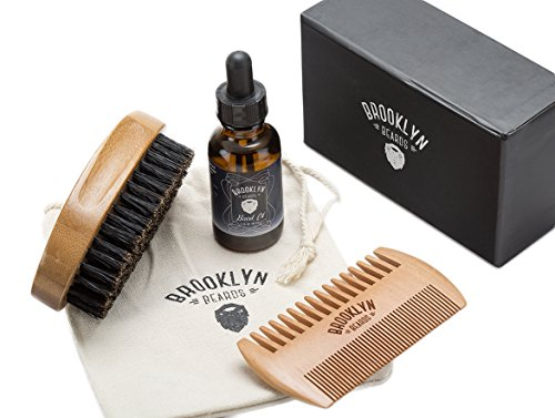 Mustache Bristle Bamboo Condition Grooming product image