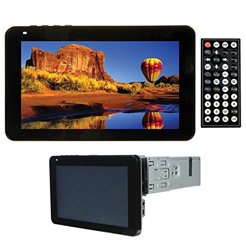 Tview D77TS In-Dash Single Din Touch Screen Bluetooth
