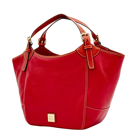 Medium Red amp; Dooney Bourke Pebble Valerie q0nOt