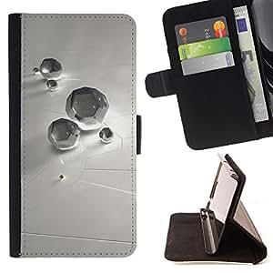 For Samsung Galaxy S4 Mini i9190 (NOT S4),S-type Resumen Diamond- Dibujo PU billetera de cuero Funda Case Caso de la piel de la bolsa protectora