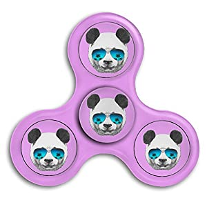 Panda-with-sunglasses High Speed Spin Tri-Spinner DOJESS Fun Bearing Toy Stress Reducer For ADHD Hand Killing Time