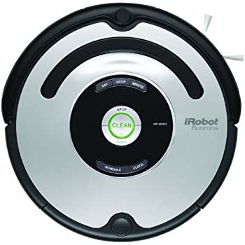 iRobot 560 Roomba Vacuuming Robot, Black and Silver