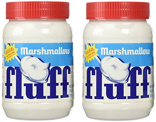 Fluff Marshmallow Spread (Pack of 2) 7 1/2oz. made in New England