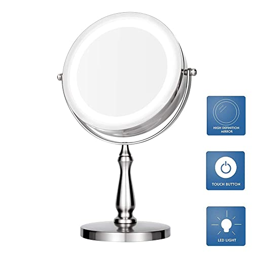 Vanity mirrors,Lighted Makeup Mirror