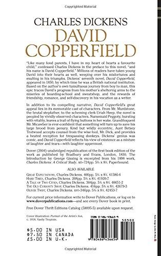 david copperfield charles dickens literature  david copperfield charles dickens 9780486436654 literature